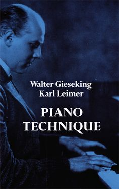 Piano Technique by Walter Gieseking  Perfect for students and teachers looking for a radical approach to finger and expression technique, this volume collects two classic books bound together by one of greatest pianists of all time and his famed teacher. Includes both The Shortest Way to Pianistic Perfection, and Rhythmics, Dynamics, Pedal and Other Problems of Piano Playing.