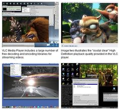 VLC Media Player is a Free Multimedia Player Software capable of reading most video and audio formats.  VLC Media Player
