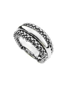 LAGOS Jewelry | Beaded Ring with Sterling Silver Center