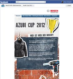 Bosch Blue: Facebook Page for professional handymen.