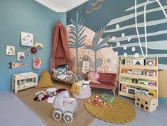 The Scene Abstract Wallpaper Mural – Munks and Me Playroom Mural, Kids Room Murals, Murals For Kids, Playroom Design, Bedroom Murals, Kids Room Design, Childrens Wall Murals, Nursery Room, Kids Bedroom