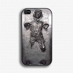 Han Solo in Carbonite iPhone case. Seems appropriate for May the 4th.