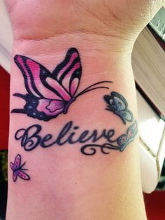 obsessed with my tattoo #butterflies