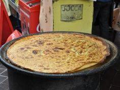 Socca Niçoise au Four - kikkererwtenbrood
