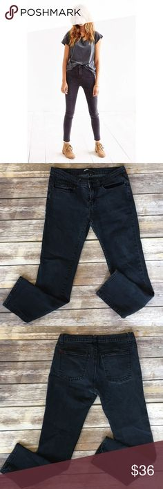 """BDG Faded Black Wash Ankle Skinny Jeans BDG Faded Black Wash Ankle Skinny Jeans. Front rise 9""""/ back rise 11""""/ inseam 26"""". Very good condition. Pic 1 for styling inspiration Urban Outfitters Jeans Skinny"""