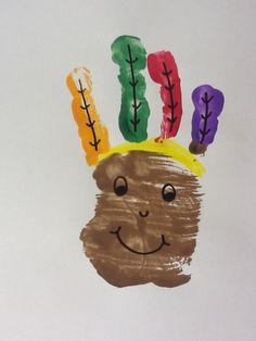Handprint Indian