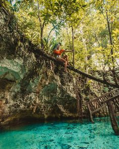 climbing trees in the jungle and swimming through caves filled with bats 🐒🌴💦🦇 i could get used to this place! Nature Adventure, Adventure Travel, Cenotes Tulum, Photo Recreation, Summer Pictures, Summer Pics, Quintana Roo, Beach Photography, Places To Go
