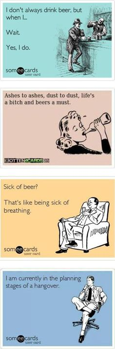 The 50 Best, Funniest, Most Cleaver And Outrageous Beer Memes Around | Craft Beer Hound #beermeme