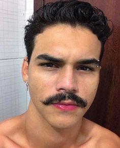 Cute White Boys, Moustaches, Beard No Mustache, Portrait Inspiration, Modern Man, Handsome Boys, Hot Guys, Aesthetics, Wattpad