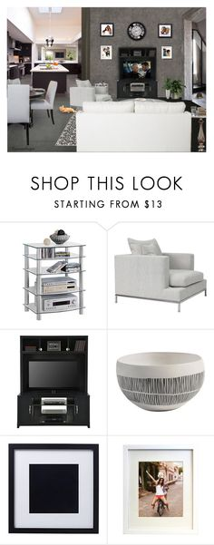 """""""FEELS LIKE SUNDAY MORNING"""" by arjanadesign ❤ liked on Polyvore featuring interior, interiors, interior design, home, home decor, interior decorating, Everest, Sony, Room Essentials and Kiera Grace"""