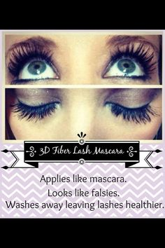 Want amazing, full lashes? Get the look of falsies without the hassle and expense with Younique's 3D Fiber Lashes.   https://www.youniqueproducts.com/CrystalMontgomery