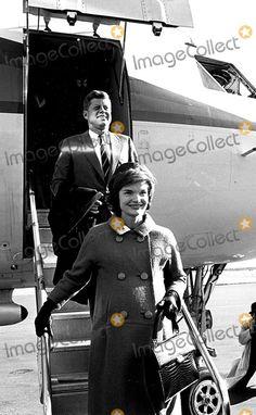John F. Kennedy, Kennedy, Jacqueline Kennedy Photo - John F Kennedy and Jacqueline Kennedy Photo By:Globe Photos, Inc