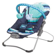 The Carter's Snug Fit Bouncer by Safety is a cozy seat that soothes and entertains. It's comfortable for baby with a headrest for support and a padded harness that Baby Boys, Baby Boy Rooms, Baby Boy Nurseries, Our Baby, Carters Baby, Whale Nursery, Sea Nursery, Foster Baby, Nautical Baby