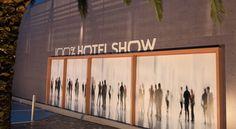 Η Διαμόρφωση της Εισόδουτου 100% Hotel Show 2017 από το γραφείο Minas Kosmidis εντυπωσίασε τους επισκέπτες της Έκθεσης!