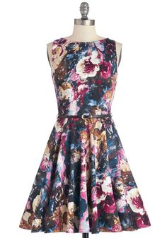 Luck Be a Lady Dress in Bouquet. If youve been searching for a charming new frock, then youre in luck! #multiNaN