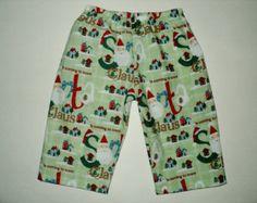 Christmas PJ Pants, Matching Pajama Pants, Kids Cotton Lounge Pants, Childrens PJ Pants, Holiday Pj Pants, Baby Pajama Pants, Made To Order