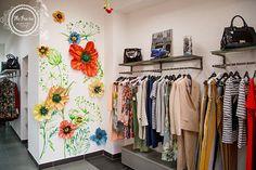декор для магазина одежды кемерово цветы панно стена дизайн гигантские цветы маки www.flofra.ru588