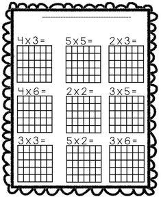 Fotografije na zidu zajednice 3rd Grade Math Worksheets, Third Grade Math, Teaching Multiplication, Teaching Math, Math Sheets, Homeschool Math, Math Class, Math For Kids, Math Lessons