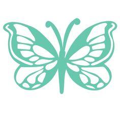 Butterfly Templates   Butterfly Template - from Kaisercraft