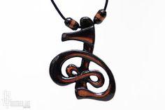 Cho Ku Ret Pendant  SKHM Reiki Symbol Necklace  by CristherArt