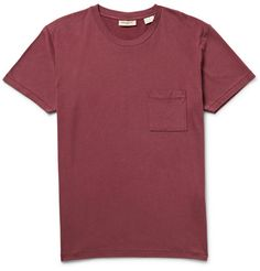 Levi's Made & CraftedCotton and Wool-Blend Jersey T-Shirt