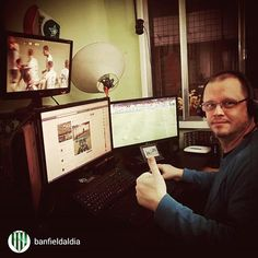 repost via @instarepost20 from @banfieldaldia Transmitiendo en vivo para la #App #Movil #Banfield al dia#instarepost20