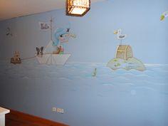 pintamos en todos los estilos motivos y tecnicas artisticas sobre pared y otros soportes