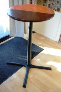 How To Make A Bar Table