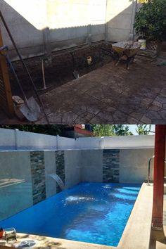 #piscinas #pool #piscinascondiseño #construcciondepiscinas #piscina #piscina #piscinaschile Chile, Outdoor Decor, Home Decor, Swimming Pool Construction, Decks, Chili Powder, Chilis, Interior Design, Home Interior Design
