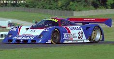 RSC Photo Gallery - World Sports Prototype Championship Donington 1989 - Nissan R89C no.23 - Racing Sports Cars