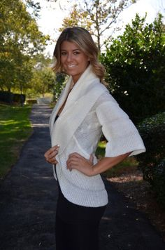 Luxe shrug, ivory – Chapter 2 Boutique