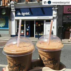 #Repost @wearedesignist  Crackin' day out there. Time for iced mochas from @butlerschocs cafe!