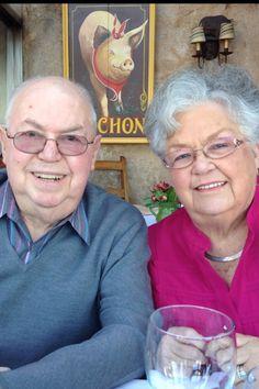 My parents.