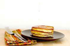 sourdough pancakes recipe - This is my favorite pancake recipe so far and the sour taste was pretty mild so the kids liked it too!