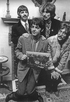 Sgt Pepper launch press party held at Brian Epstein's home