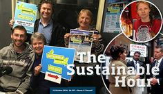 It is Sustainable House Day in Geelong region on Sunday 16 October 2016, and that is what The Sustainable Hour on 94.7 The Pulse focuses on this Wednesday: Vicki Perrett, Sustainable House Day organiser, with home owners Susan Weymouth, Dan Cowdell and Dierijk Drent tell their stories. We also talk with Claire Danaher about the special action she did on Divestment Day, and with Melissa Waggoner about why she took part in an international protest event at Citibank in Melbourne.