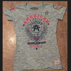 Women's American Fighter Shirt Size Medium Women's American Fighter Shirt Ny Affliction Size Medium Wore once like NEW Affliction Tops Tees - Short Sleeve