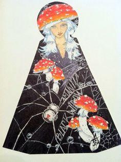 Melissa Fetalvero - A Mynah Production: Key Hole Doll...paper dolls...