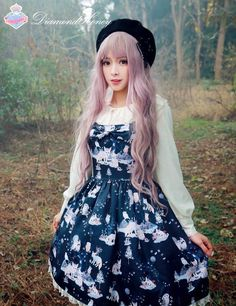 [-✦-Diamond Honey ~ Kingdom Of The Forest~ Lolita JSK-✦-] Pre-order will END IN 2 DAYS LATER, only 47.99USD >>> http://www.my-lolita-dress.com/diamond-honey-kindom-of-the-forest-lolita-jumper-dress-dh-11