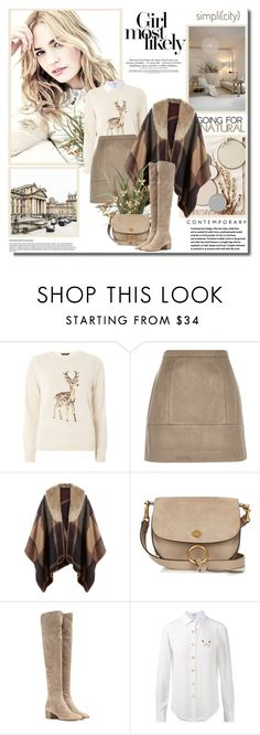 """""""Your positive action combined with positive thinking results in success!!"""" by lilly-2711 ❤ liked on Polyvore featuring Dorothy Perkins, River Island, Accessorize, Chloé, Gianvito Rossi and Loewe"""