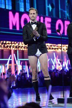 Alex at The MTV Movie Awards