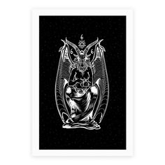 Browse page 3 of our collection of 1742 Posters . Designed and printed in the USA. Pet Cats, Baphomet, Black Magic, Satan, Your Pet, Giclee Print, Vibrant Colors, Beast, Original Art