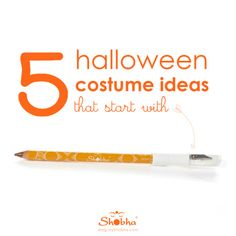 5 halloween costume ideas that start with a Shobha® Brow Pencil