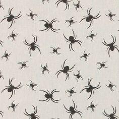 Baumwolle, Sand mit schwarzen Spinnen - für Möhrchen?!