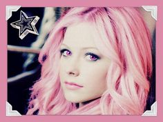 Wallpaper of Avril for fans of Avril Lavigne 32558138 Shakira Hair, Avril Lavigne, Pink Hair, Pretty Hairstyles, Wallpaper, Purple, My Style, Color, Image