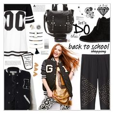 """Go Back-To-School Shopping!"" by ashblondredhed ❤ liked on Polyvore featuring Sans Souci, BackToSchool and contestentry"