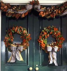 Wreaths & Swags for Fall