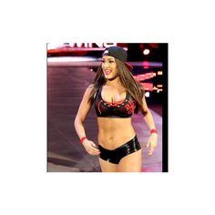 Nikki Bella vs. Aksana photos ❤ liked on Polyvore featuring wwe and the bella twins