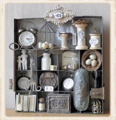 pretty collection of vintage goodies from Guriana blog