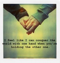 can do anything with you by my side...~~ #love #soulmates #lover